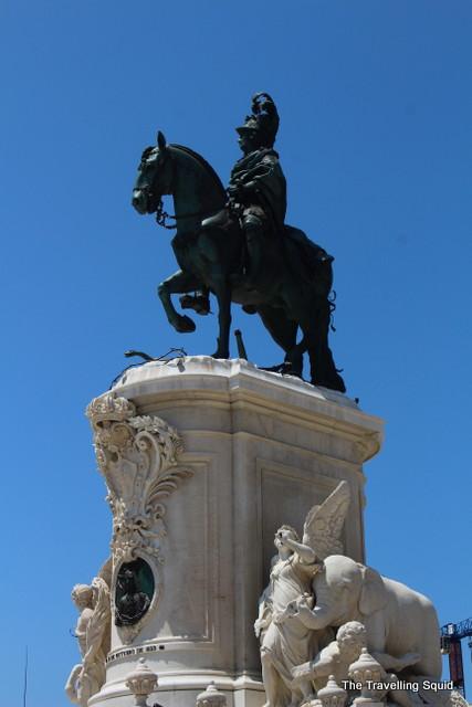 Praça do Comércio lisbon baixa King José I