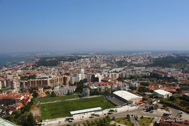 views from cristo rei portugal lisbon