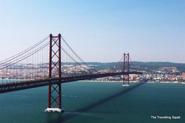 25 de abril bridge lisbon portugal