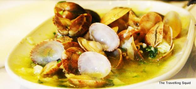 Cervejaria Ramiro seafood lisbon clams