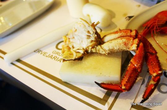 Cervejaria Ramiro seafood lisbon crab