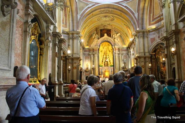 St Antonio Church in Lisbon