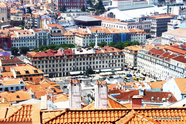 castelo sao jorge lisbon portugal