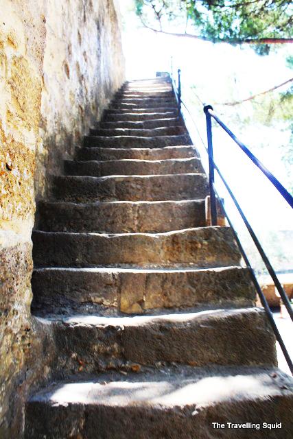 steps castelo sao jorge