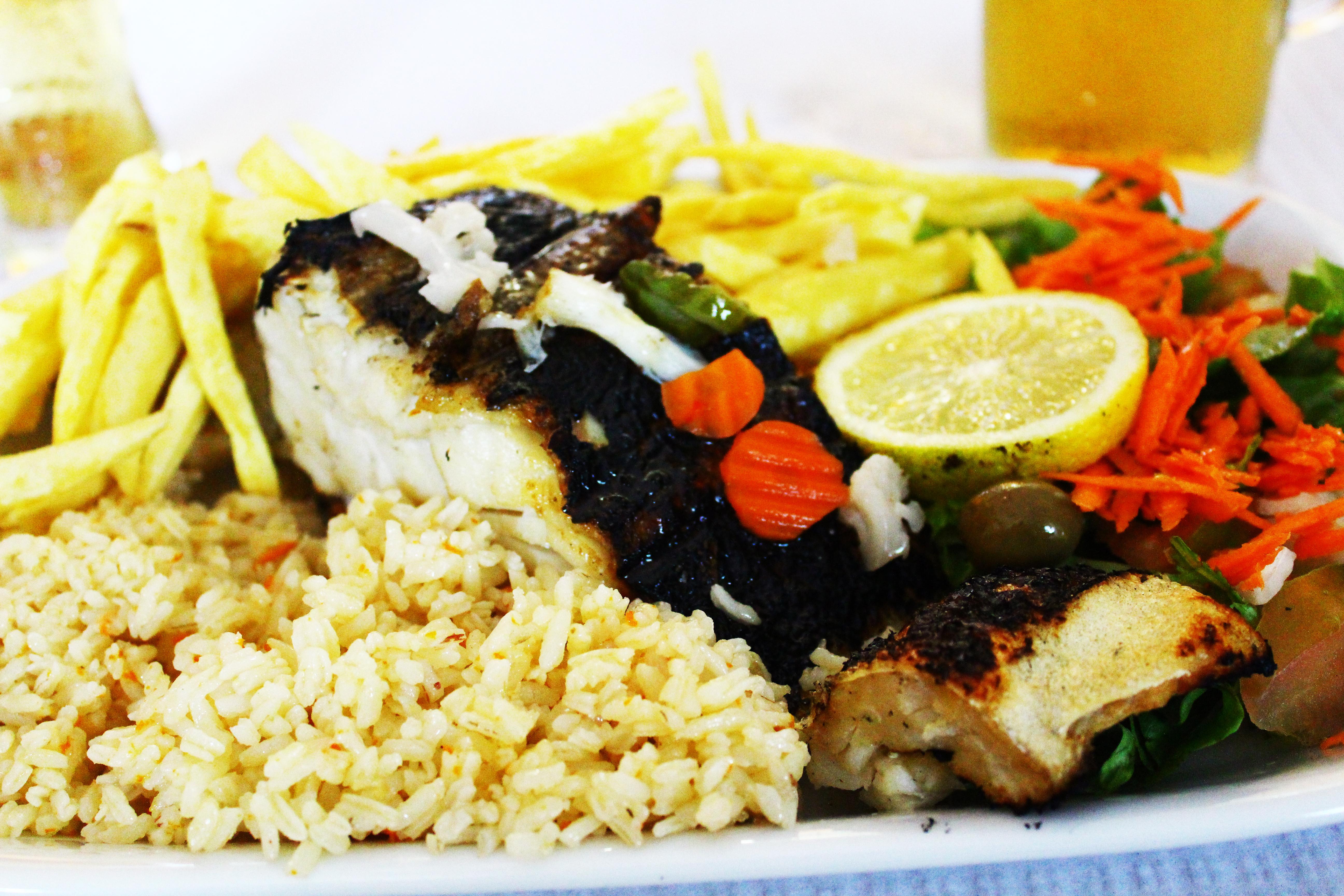 El Rei D'frango lisbon bacalhau salted cod
