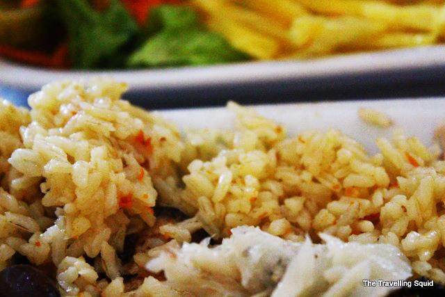 El Rei D'frango lisbon rice