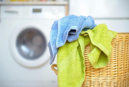 laundry washing bedsheets