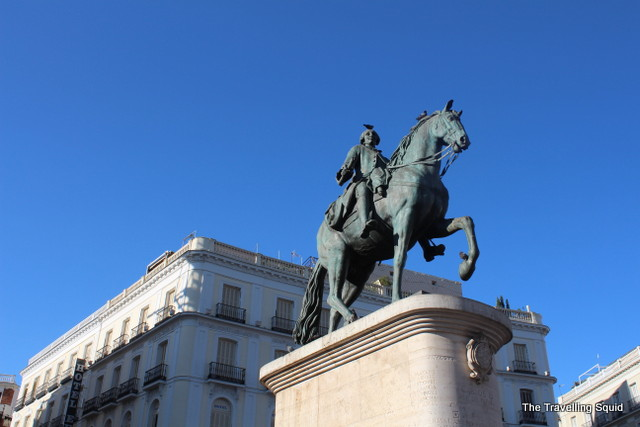 4 things to see in puerta del sol in madrid the for Corte ingles puerta del sol madrid
