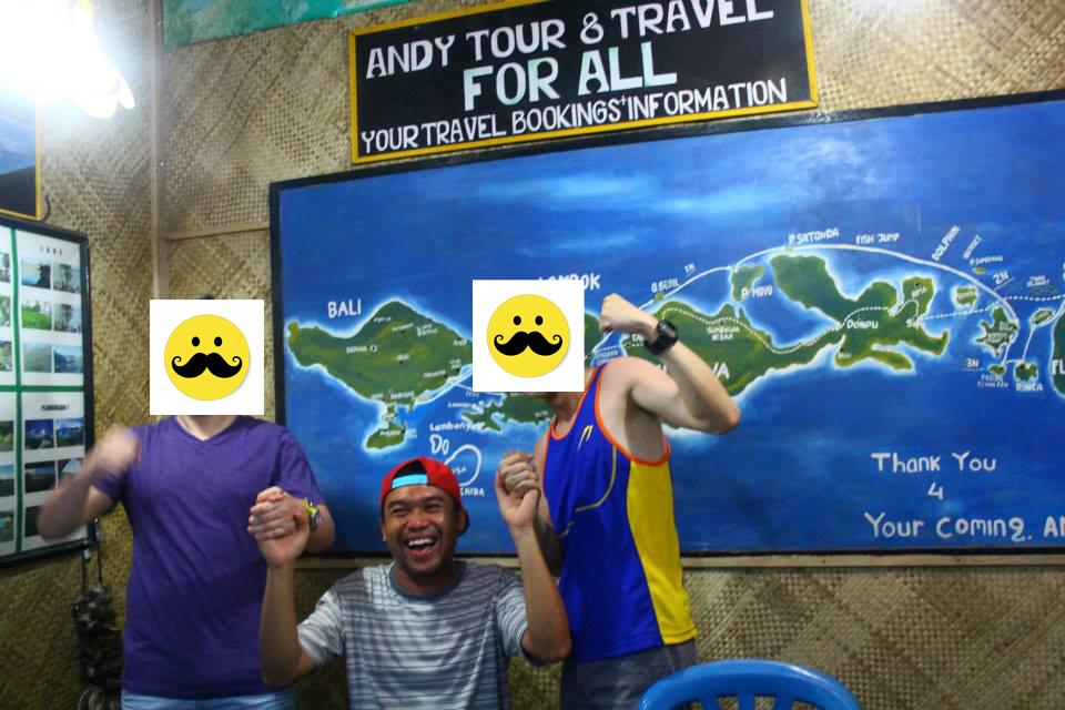 gili island tour agent