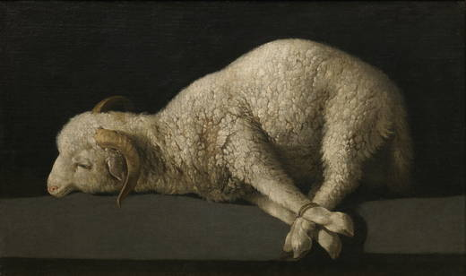 prado musuem the lamb of god