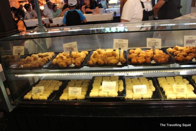 Mercado San Miguel croquettes