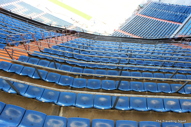 real madrid bernabeu tour blue seats