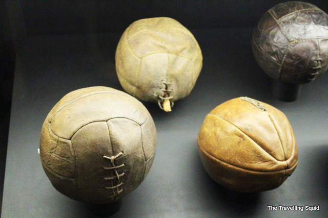real madrid bernabeu tour balls old