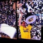 Of Raul Gonzalez, Luis Figo and Zinedine Zidaneat theSantiago Bernabéu in Madrid