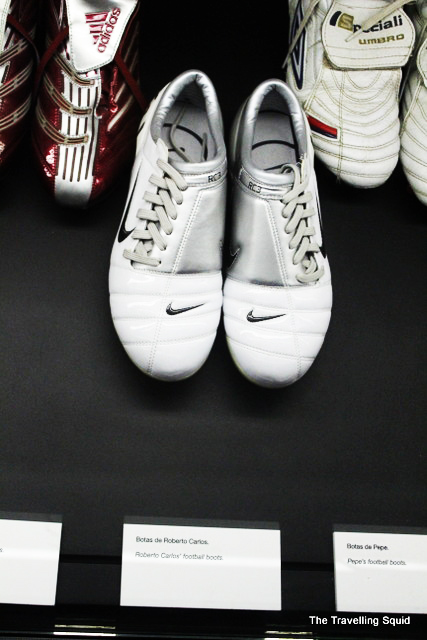 real madrid bernabeu tour roberto carlos shoes