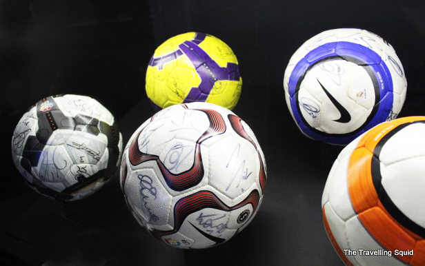 real madrid bernabeu tour soccer balls