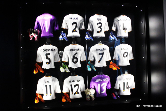 real madrid bernabeu tour jerseys