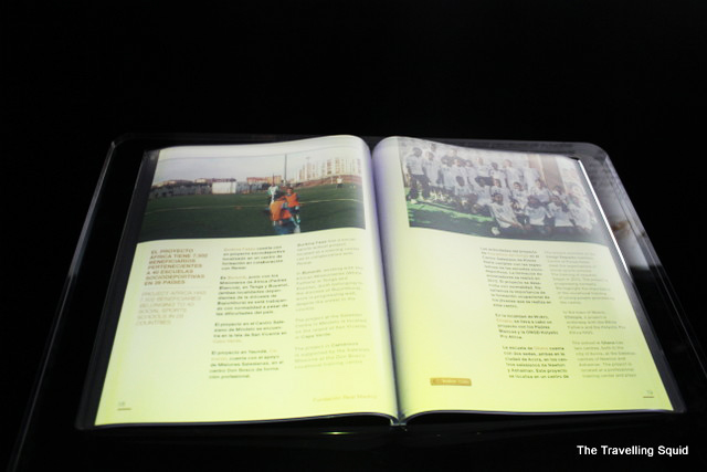 real madrid bernabeu tour book