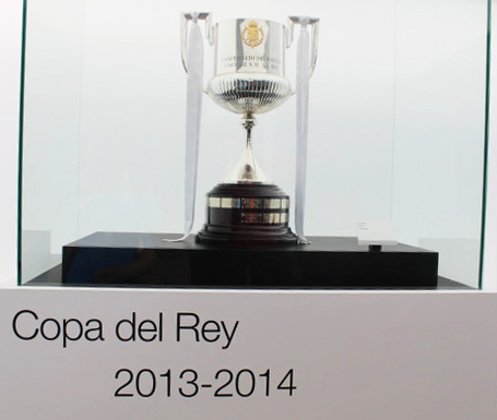 real madrid bernabeu tour trophy