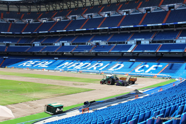 real madrid cf bernabeu tour
