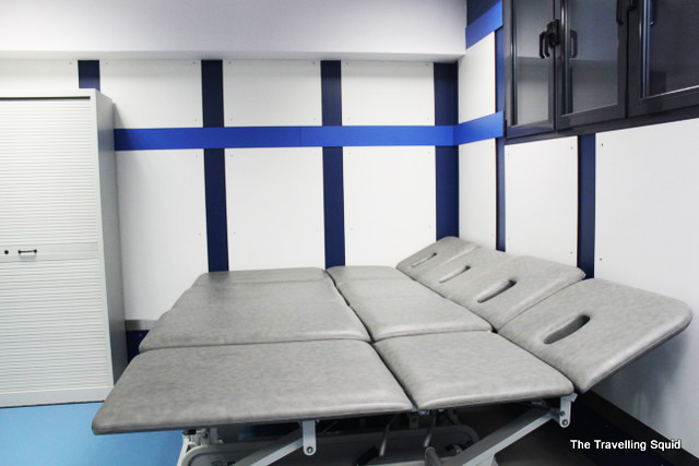 real madrid bernabeu tour massage bed
