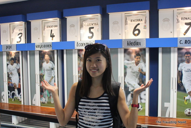 real madrid bernabeu tour locker room