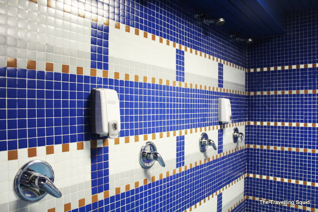 real madrid bernabeu tour shower
