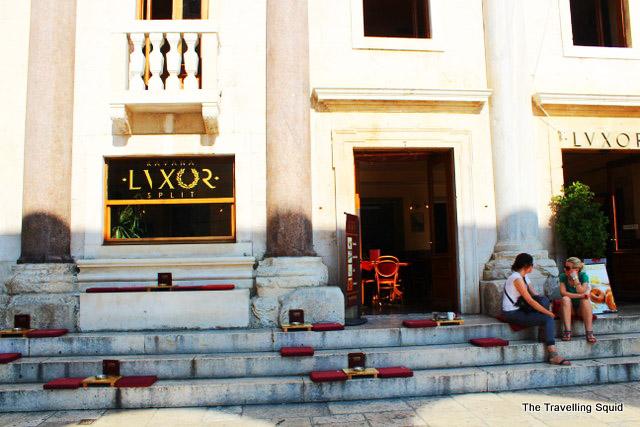 diocletian's palace split restaurants