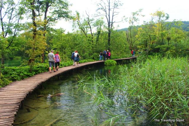 plitvice lakes walking trails