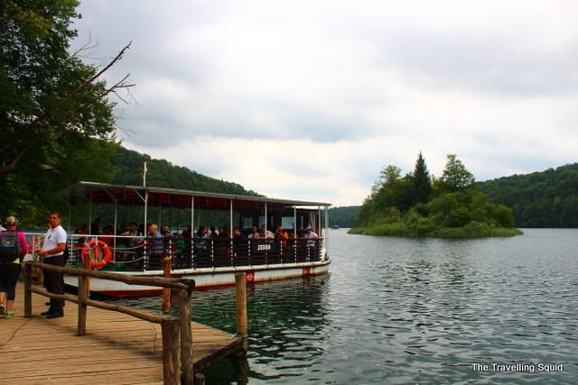 Plitvice Lakes ferry terminal