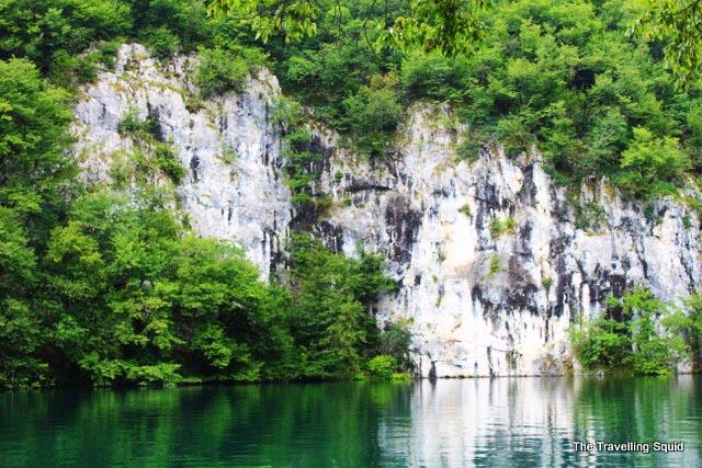 plitvice lakes green water