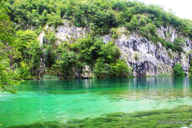 plitvice lakes green pools water