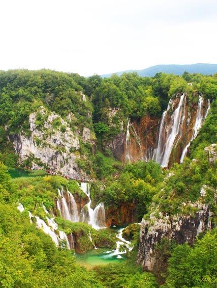 highest waterfall plitvice lakes Veliki slap