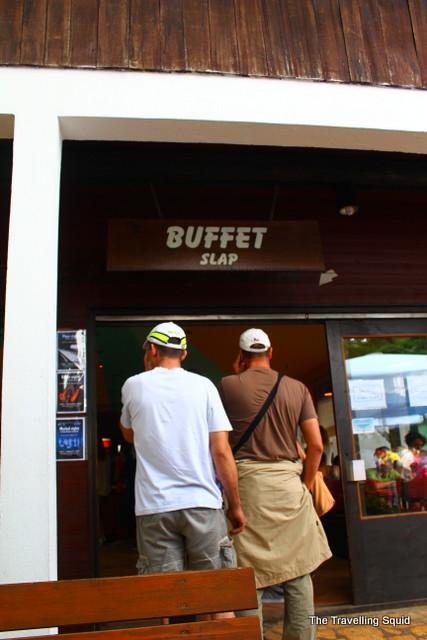 buffet slap plitvice lakes lunch eatery