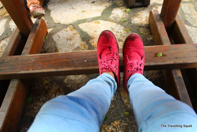trekking plitvice lakes shoes