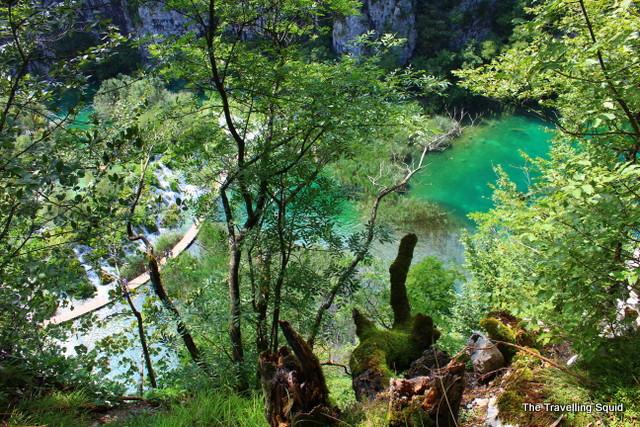 Velike Kaskade plitvice lakes