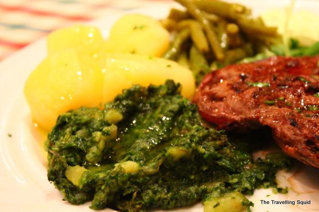 Konoba Hvaranin split sirloin steak