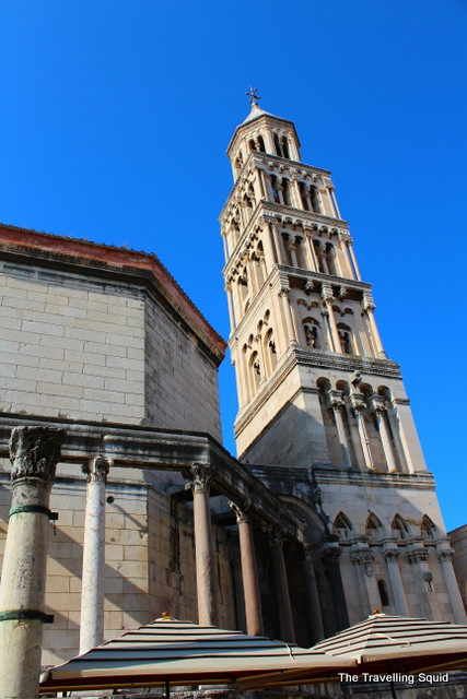 Cathedral and Bell Tower of St Domnius split history