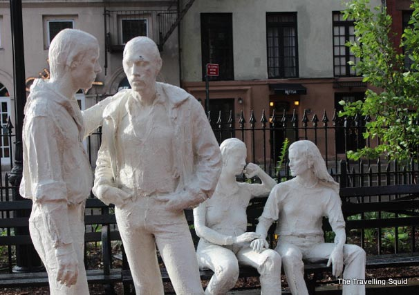 west village gay liberation monument