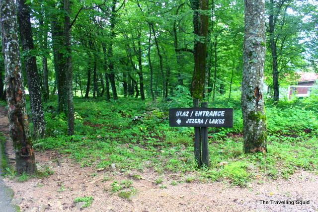 plitvice lakes entrance 2 route e