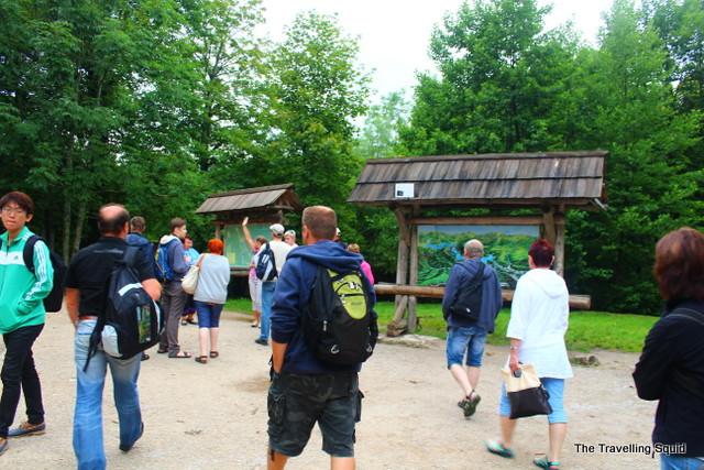 plitvice lakes entrance route e