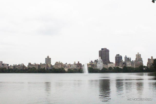Upper East side from Central Park
