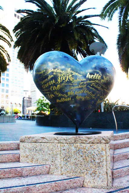 union square san francisco heart