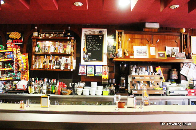 spanish cafe bar galicia spain