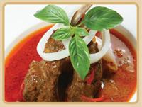 Massaman curry naj bangkok