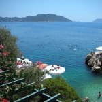 A great charter trip from Fethiye to Olympos over the restless sea