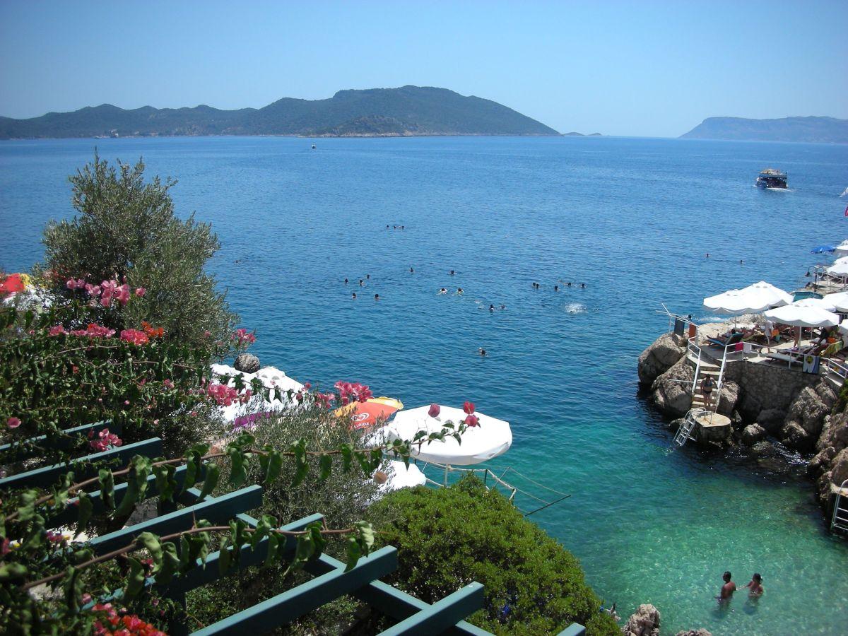 beach village kas turkey