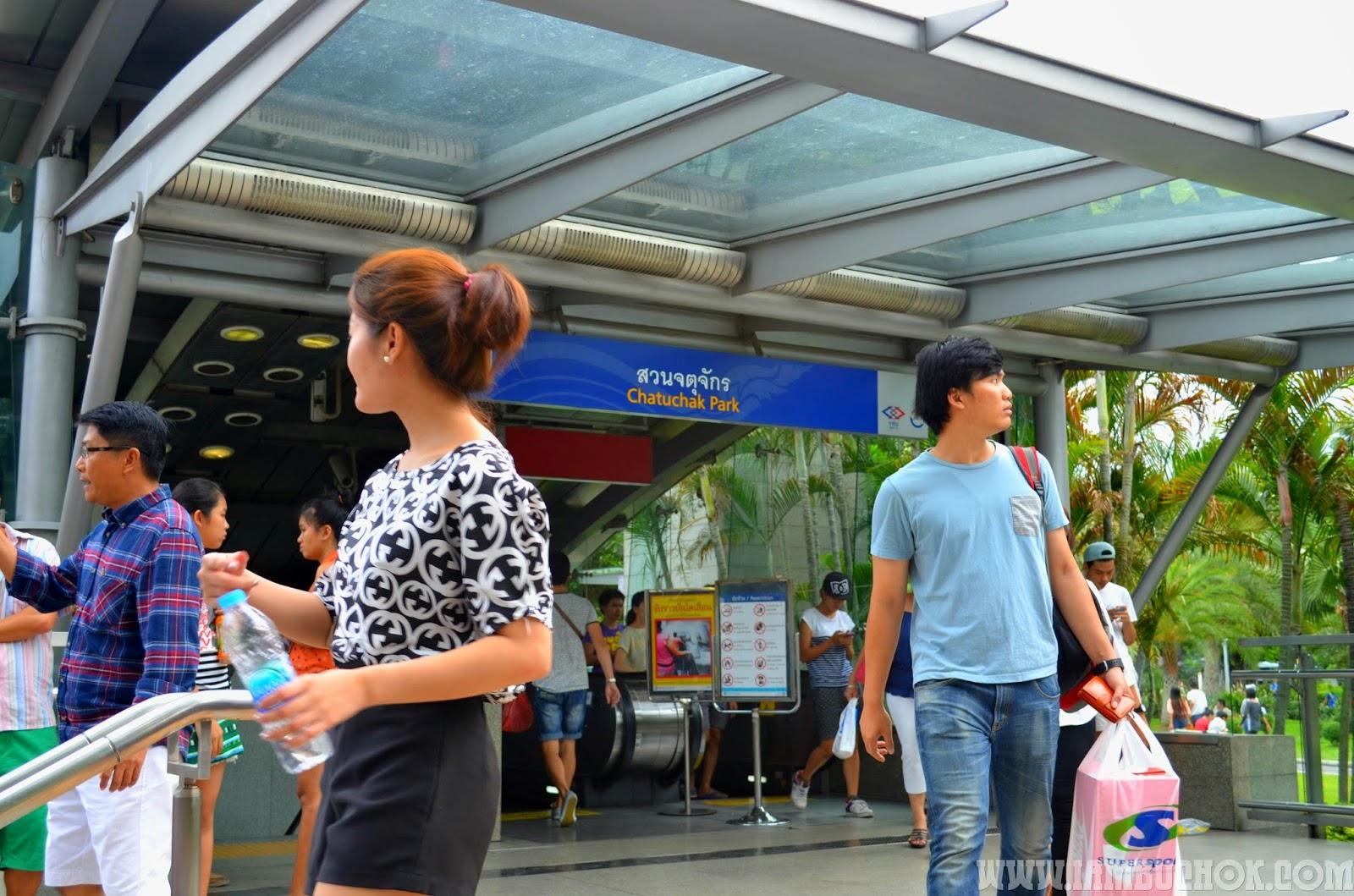 chatuchat park train station bangkok