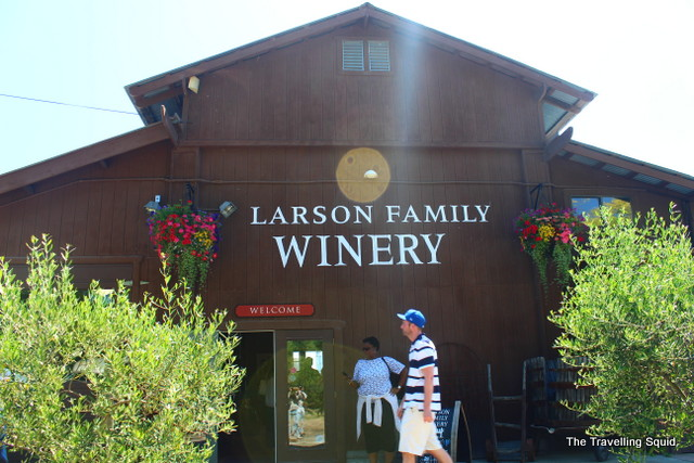 larson family winery green dream tours
