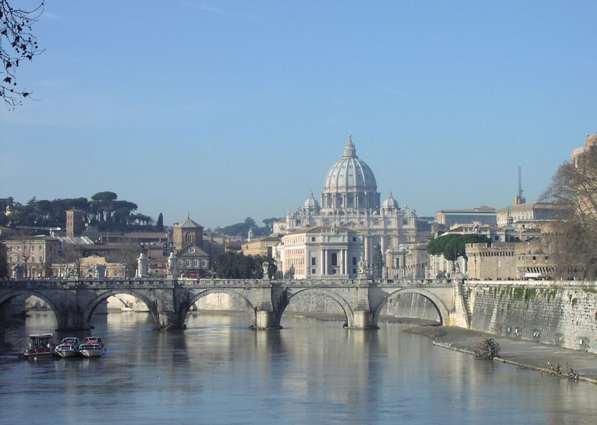 Vatican City landscape